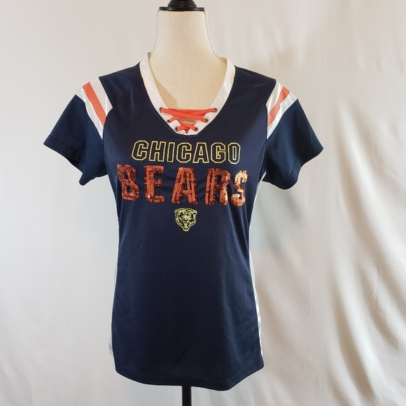 07a9baf06 NFL Tops - Chicago Bears NFL Jersey Bling